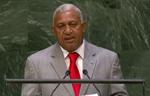 Prime Minister Bainimarama at UN