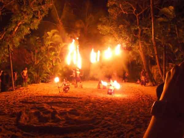 Fijian Firewalking